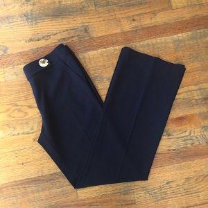 Tory Burch Navy Blue Flare Dress Pants size 8